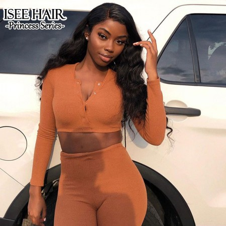 Queen Pokoo - Brazilian Body Wave Lace Front Wig | ISEEHAIR