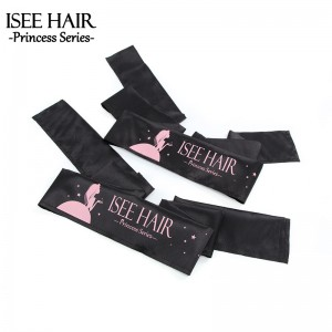 Satin Silk Edges Scarf, Lay Down Head Wraps, ISEEHAIR
