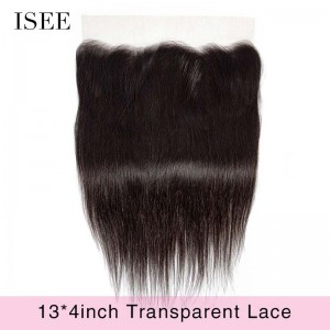 Super Invisible Transparent Frontal  Lace 13*4 for All Texture