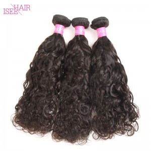 ISEE HAIR 10A Grade 100% Human Virgin Hair unprocessed Peruvian Natural Wave 3 Bundles Deal