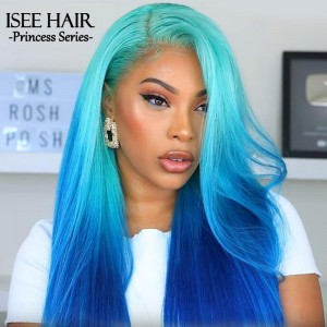 Msroshposh - Brazilian Straight Blonde 613 Human Hair Wigs | ISEEHAIR