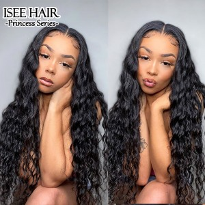 ISEE HAIR Loose Deep 360 Lace Wigs 100% Human Virgin Hair 360 Wigs