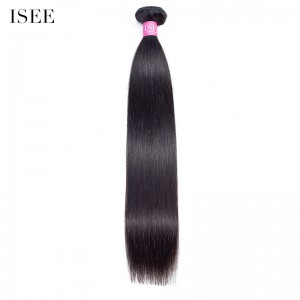 ISEE HAIR 10A Grade 100% Human Virgin Hair unprocessed Straight Hair 1 Bundles Deal
