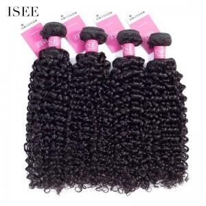 ISEE HAIR 9A Grade 100% Human Virgin Hair unprocessed Mongolian Water Wave 4 Bundles Deal