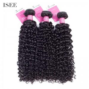 ISEE HAIR 9A Grade 100% Human Virgin Hair unprocessed Mongolian Water Wave 3 Bundles Deal