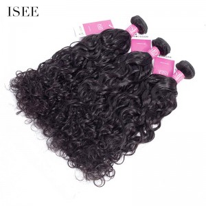 ISEE HAIR 9A Grade 100% Human Virgin Hair unprocessed Peruvian Natural Wave 3 Bundles Deal