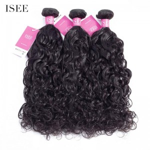 ISEE HAIR 9A Grade 100% Human Virgin Hair unprocessed Malaysian Natural Wave 3 Bundles Deal