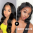 ISEEHAIR High Density 4*4 Lace Closure Wig Combo Offer Long Lengh Wig with Short Bob Deal.