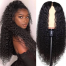 ISEEHAIR Invisible HD Lace Wig Deep Curly Hair Lace Closure & Front Melt Lace Wig